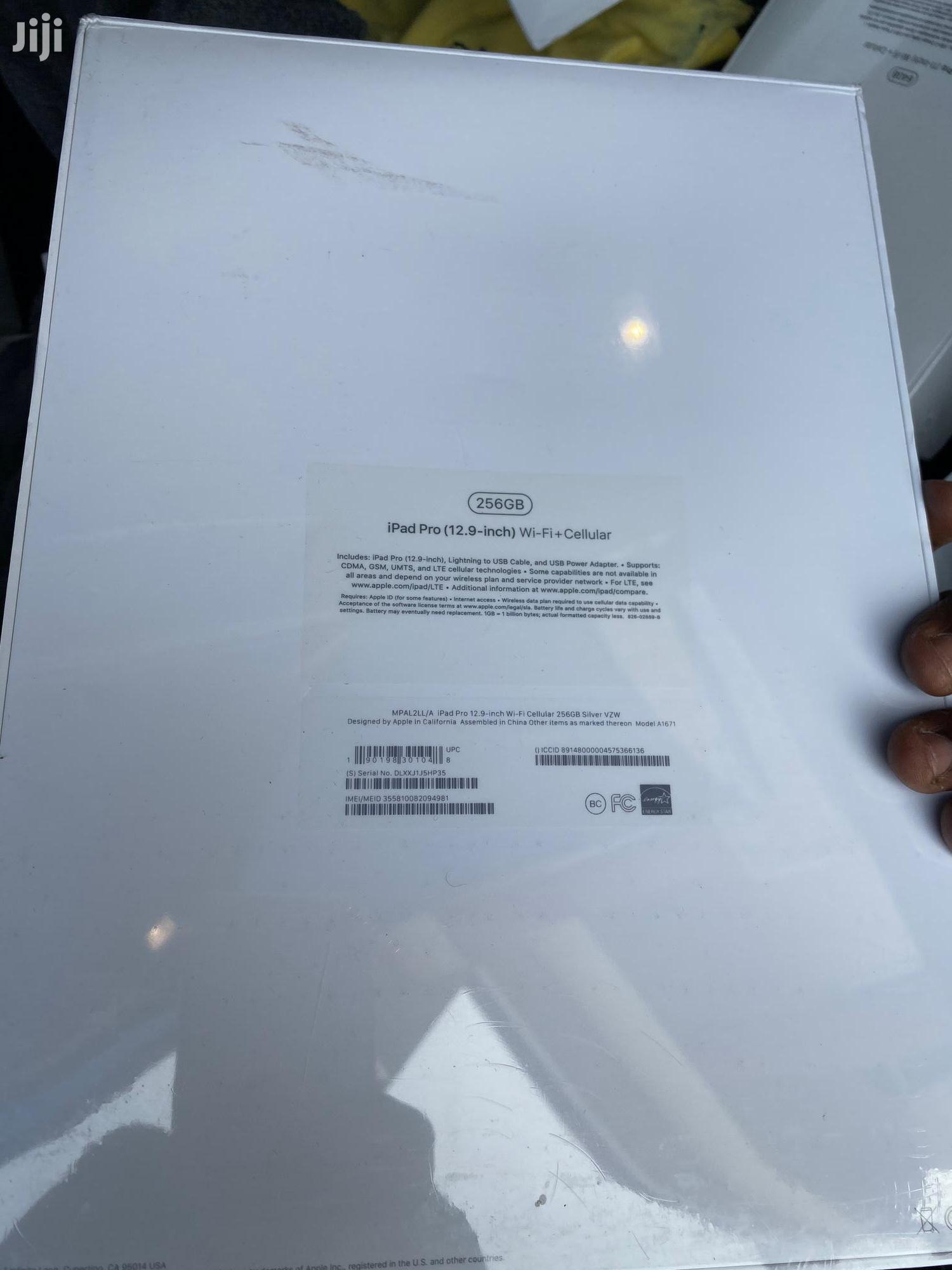 New Apple iPad Pro 12.9 256 GB Silver | Tablets for sale in East Legon (Okponglo), Greater Accra, Ghana