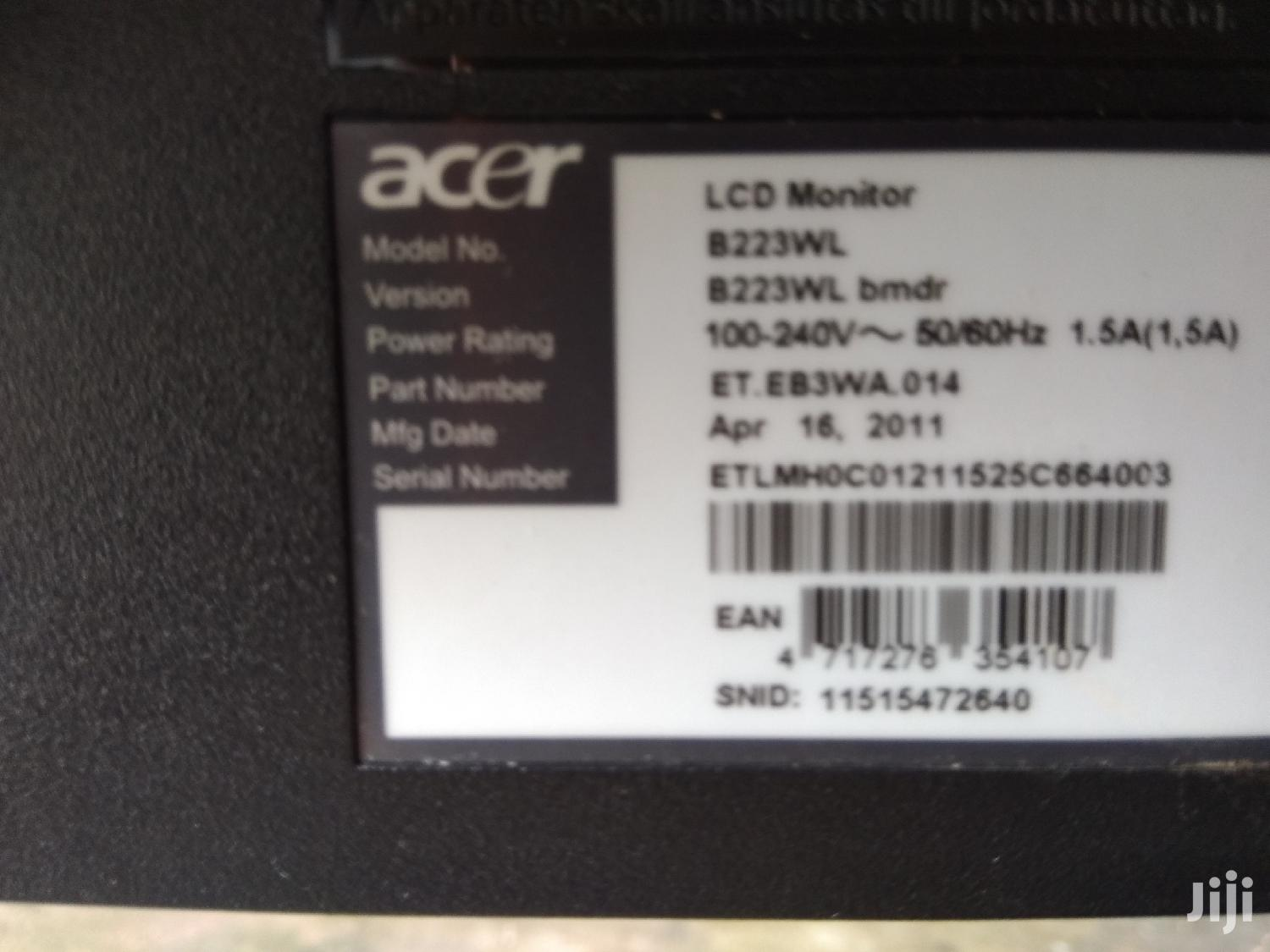 Archive: Acer Monitor 22.3''