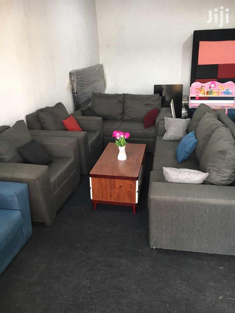 Gray Sofa Set | Furniture for sale in Odorkor, Greater Accra, Ghana