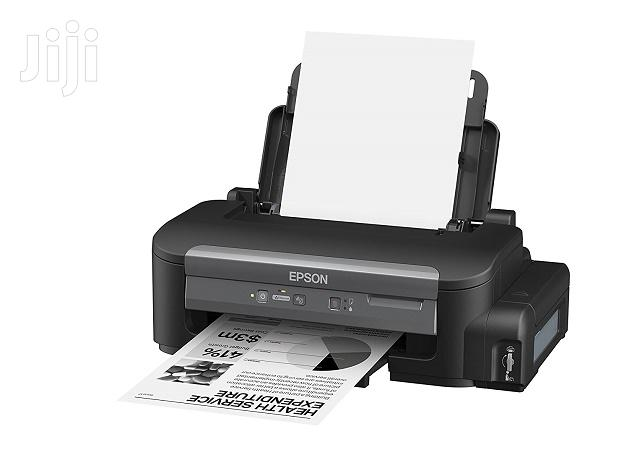 CC11CC84301 - Epson Workforce M100 Mono Ink Tank System Printer | Printers & Scanners for sale in Bubuashie, Greater Accra, Ghana