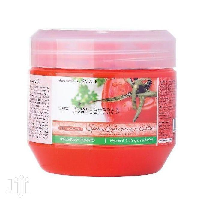 Carebeau Spa Lightening Salt Scrub .(Tomatoes)