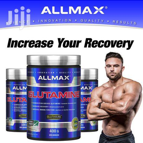 Supplement: ALLMAX Pure Micronized Glutamine 400 G | Vitamins & Supplements for sale in Achimota, Greater Accra, Ghana