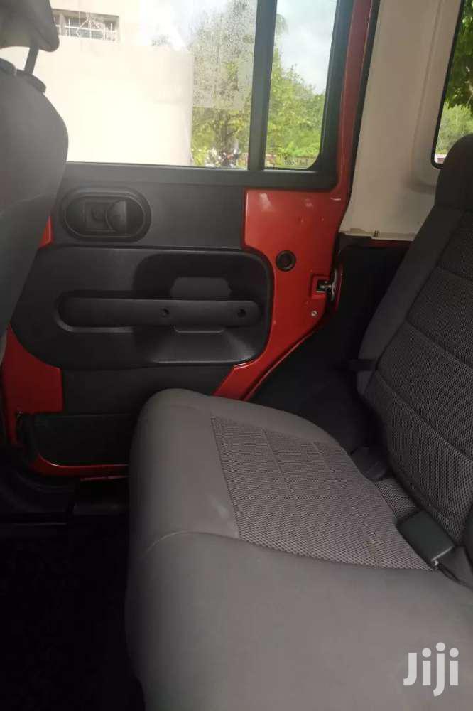 Jeep Wrangler 2009 3.8 V6 Unlimited Orange   Cars for sale in Tema Metropolitan, Greater Accra, Ghana
