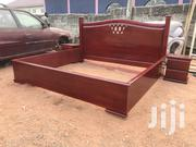 Solid Quality Wooden King Size Bed   Furniture for sale in Greater Accra, Kanda Estate
