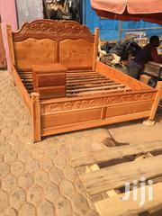 Fully Curving Wooden Bed | Furniture for sale in Ashanti, Kumasi Metropolitan