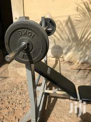 Alex Weight Bench With 40kg | Sports Equipment for sale in Greater Accra, Alajo