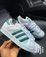 Adidas Originals Superstar Leather White/Collegiate Green | Shoes for sale in Greater Accra, Odorkor