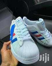 Adidas Superstar Ftw White/ Blue/ Red Originals | Shoes for sale in Greater Accra, Odorkor