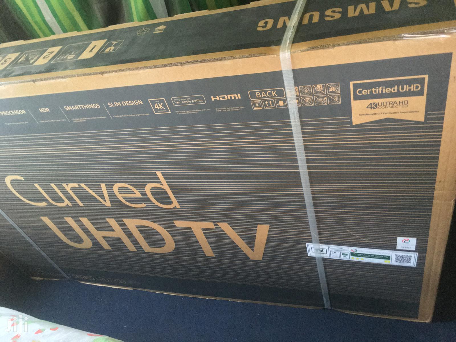 Samsung 65 Uhd 4k Curved Smart Tv