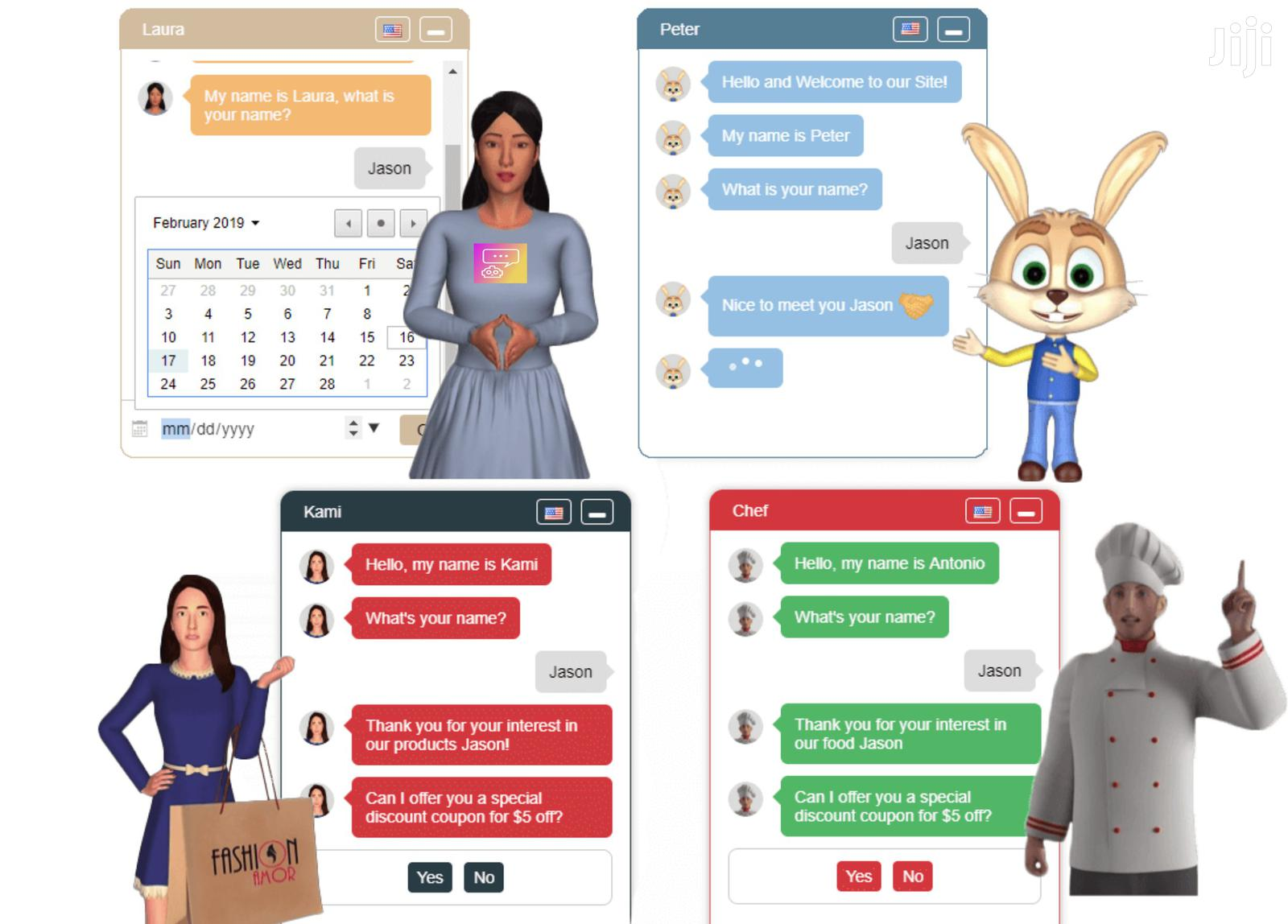 I Will Build The Best Ai Website Chatbot That Will Help You Sell