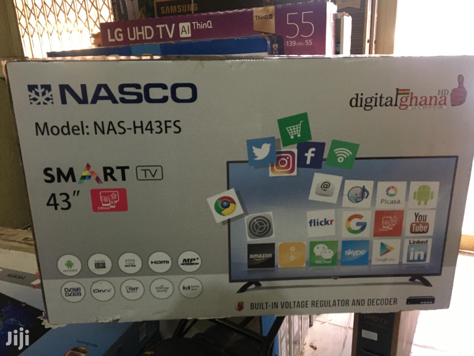 "Nasco 43""Digital Satellite Smart Android Full HD Led Tv"