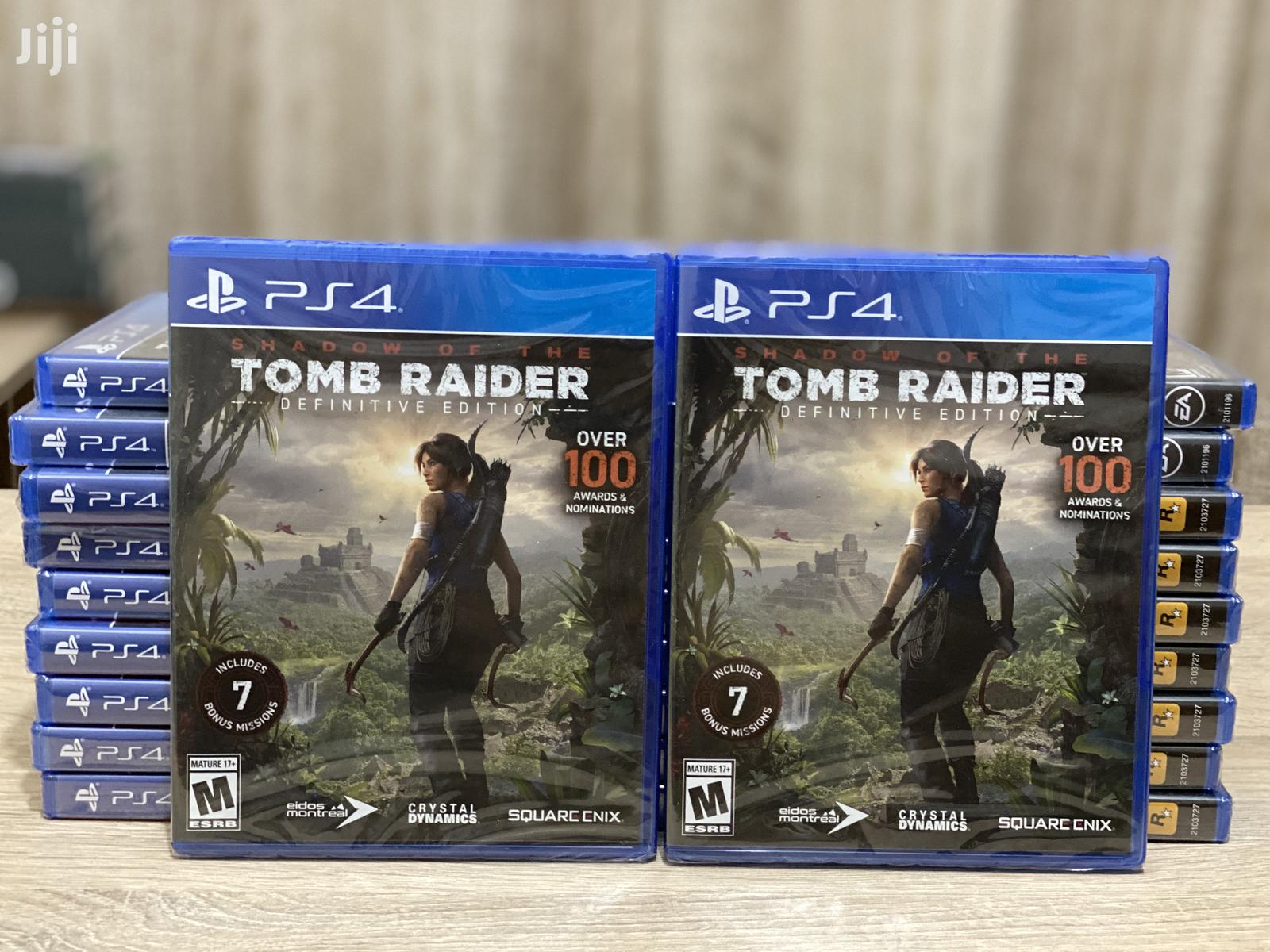 Archive: Shadow Of The Tomb Raider PS4/Xbox