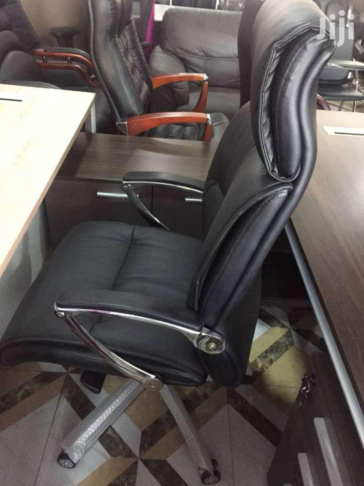 Executive Leather Swivel Chair | Furniture for sale in Accra Metropolitan, Greater Accra, Ghana