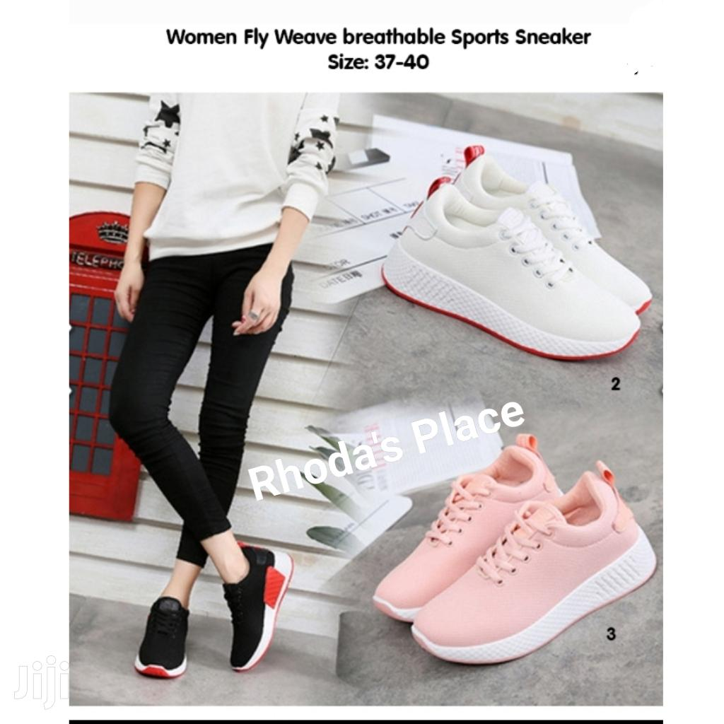 Women Fly Weave Breathable Sports Sneaker | Shoes for sale in Accra new Town, Greater Accra, Ghana