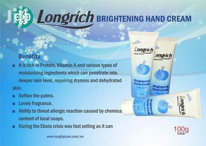 Longrich Brightening Hand Cream - 100g | Skin Care for sale in Kumasi Metropolitan, Ashanti, Ghana