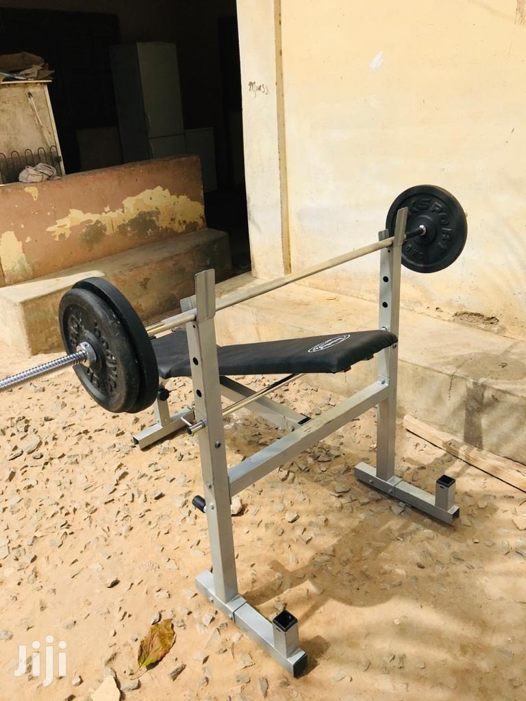 Weight Bench With 40kg | Sports Equipment for sale in Alajo, Greater Accra, Ghana