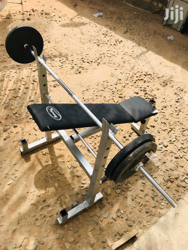 Weight Bench With 40kg