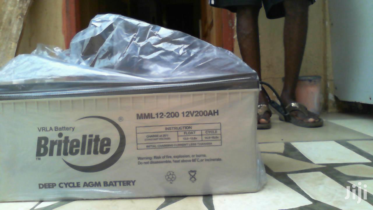 Britelite 12v 200ah Gel Battery