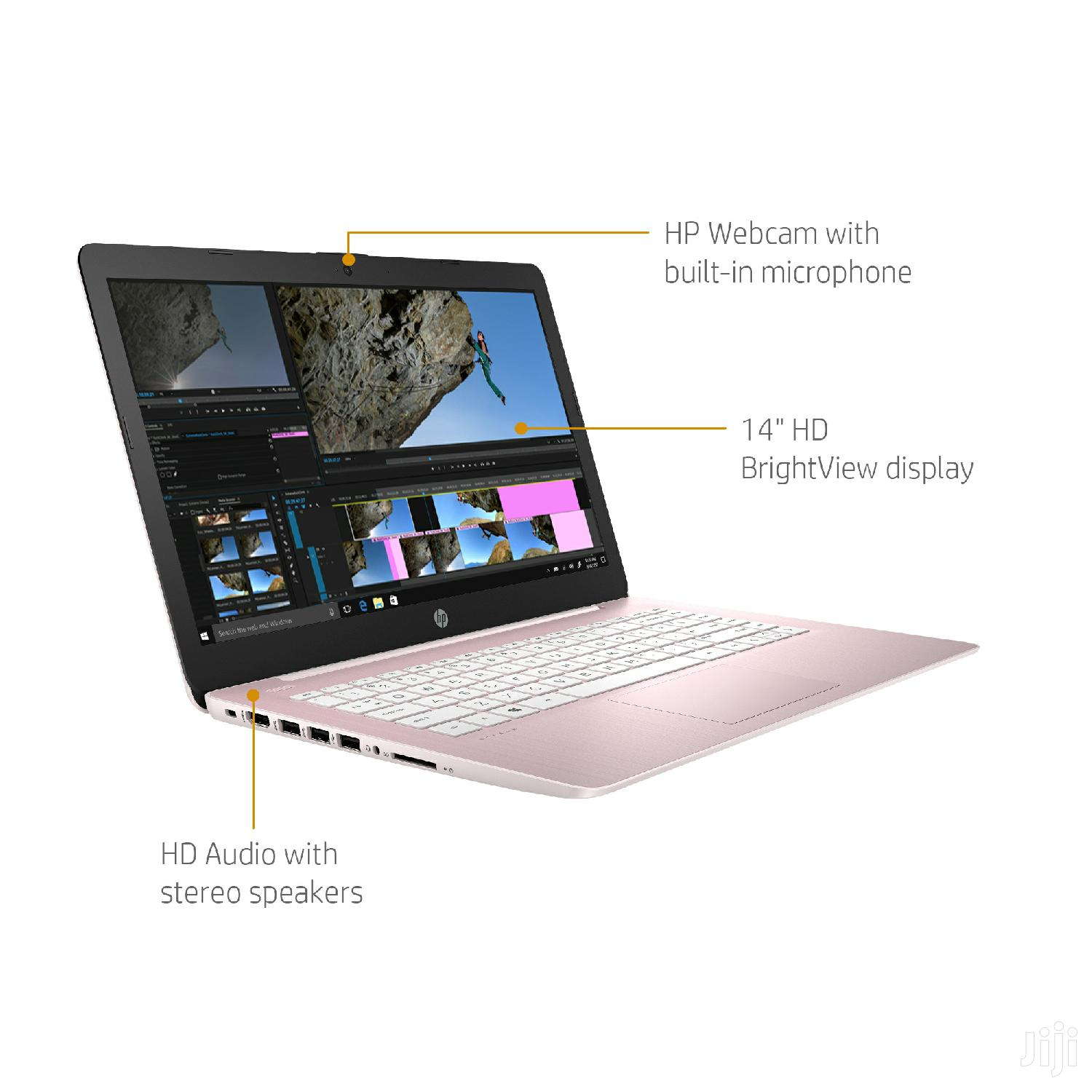 New Laptop HP Stream 14 4GB Intel Celeron SSD 32GB | Laptops & Computers for sale in Avenor Area, Greater Accra, Ghana