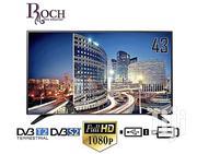 "Roch RH-LE43DS-B Digital Satellite LED TV - 43"" Black | TV & DVD Equipment for sale in Greater Accra, Adabraka"
