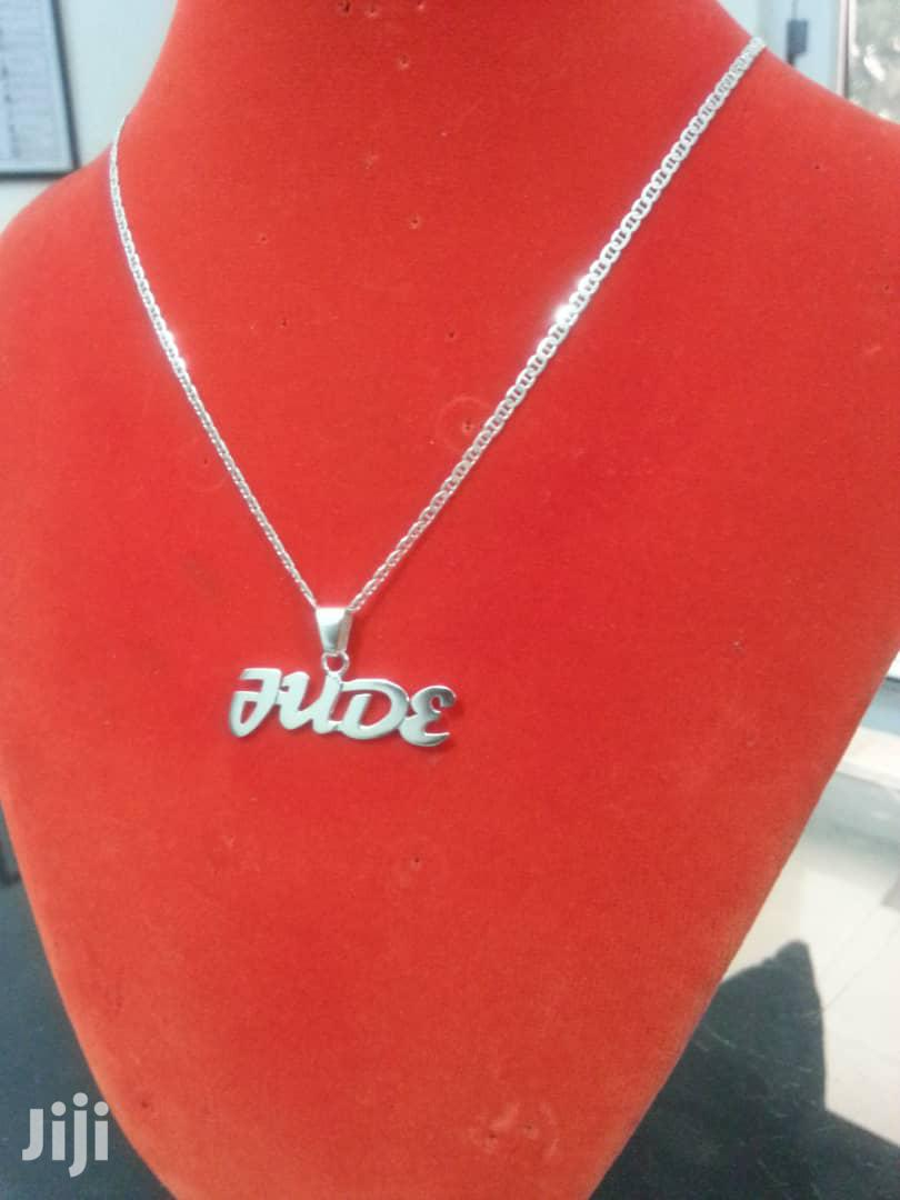 Customized Pure Silver Necklace | Jewelry for sale in Kotobabi, Greater Accra, Ghana