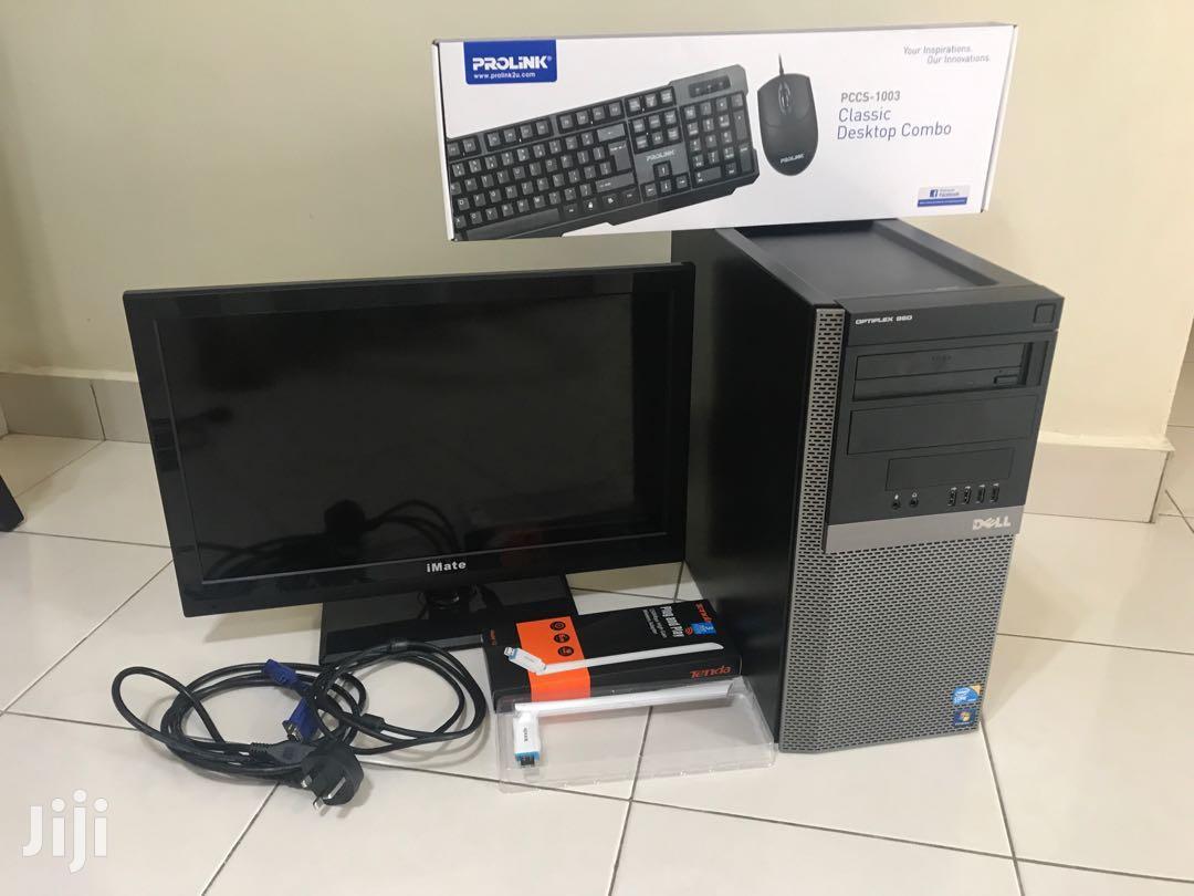 Archive: Desktop Computer Dell 4GB Intel Core I7 HDD 500GB