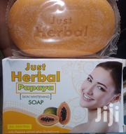 Just Herbal Papaya Skin Whitening Soap | Bath & Body for sale in Greater Accra, Achimota