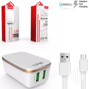 Ldnio 2.4A Repid Charger 2usb Port | Accessories for Mobile Phones & Tablets for sale in Greater Accra, Ga East Municipal