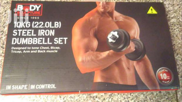 Dumbell Weight Gym Iron 10kg X 1