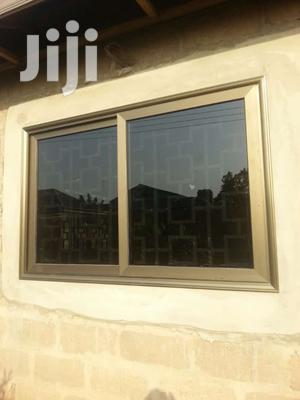 Single Glass Window Witj Dark Glass