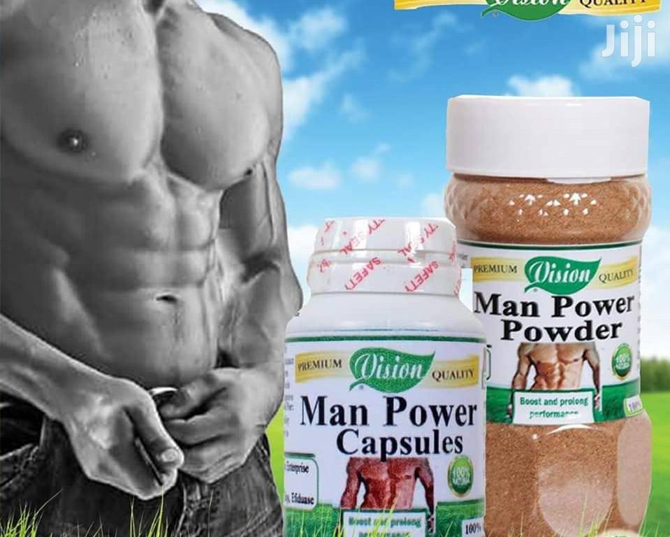 Manpower Capsules Powder