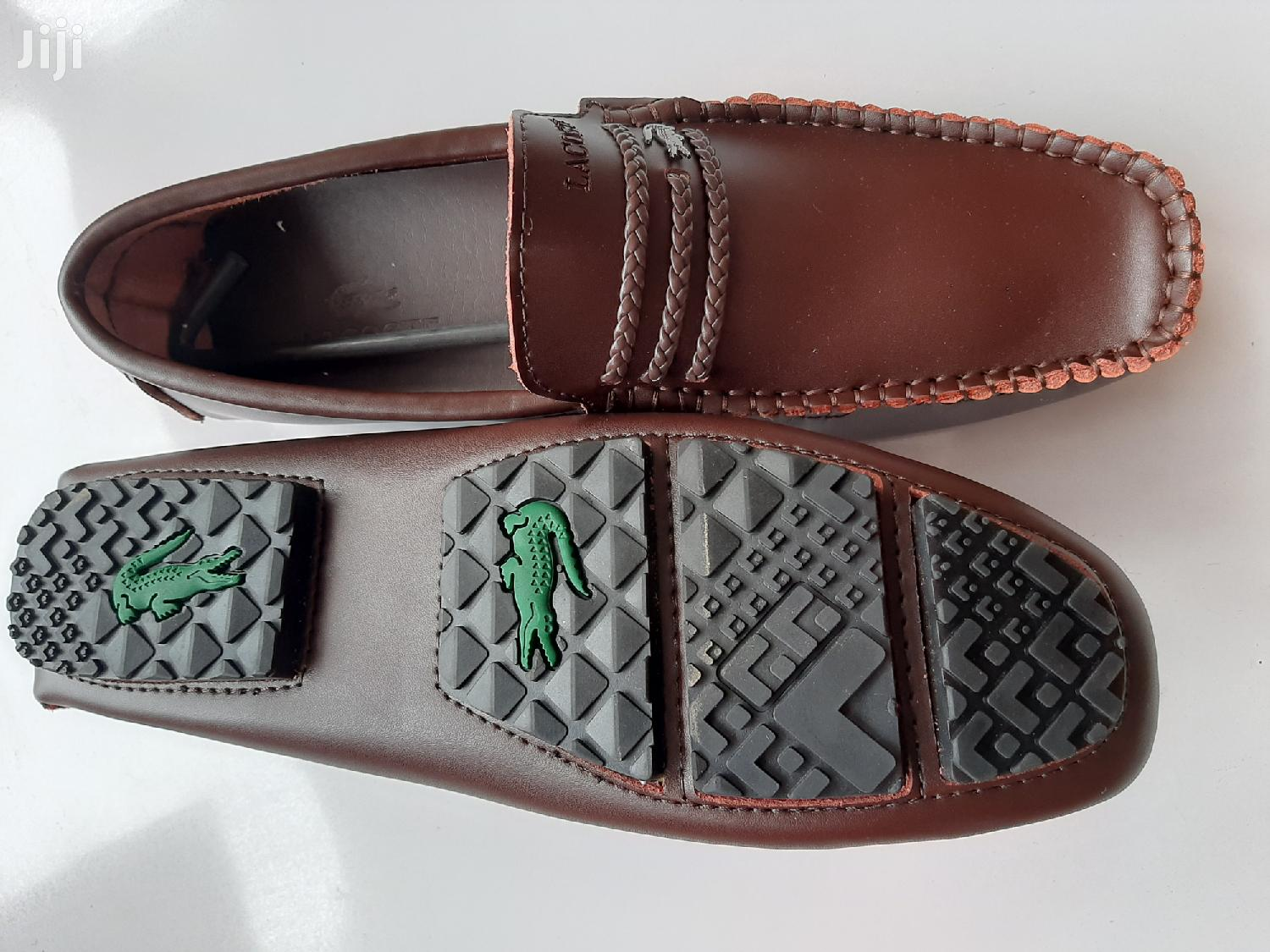 Archive: Brown Leather Loafers-sz 43