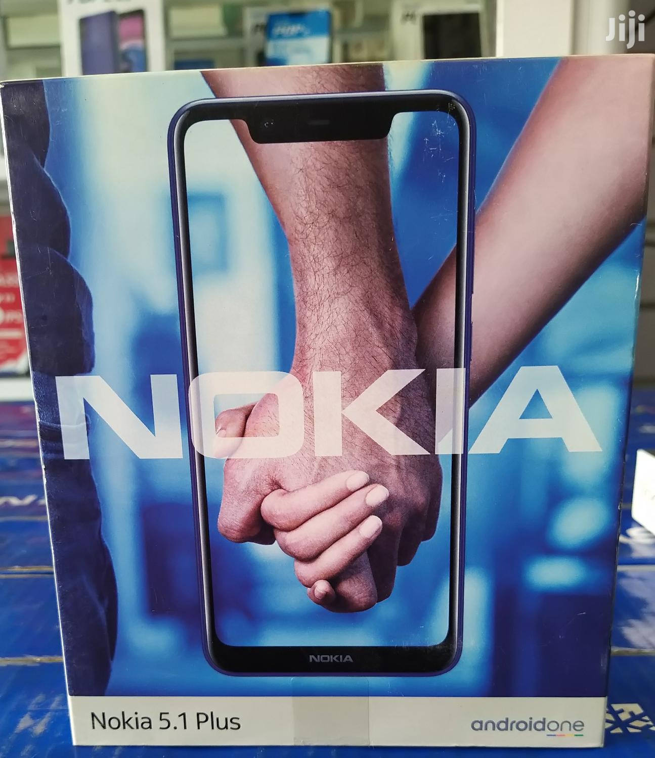 New Nokia 5.1 Plus (X5) 32 GB Black | Mobile Phones for sale in Avenor Area, Greater Accra, Ghana