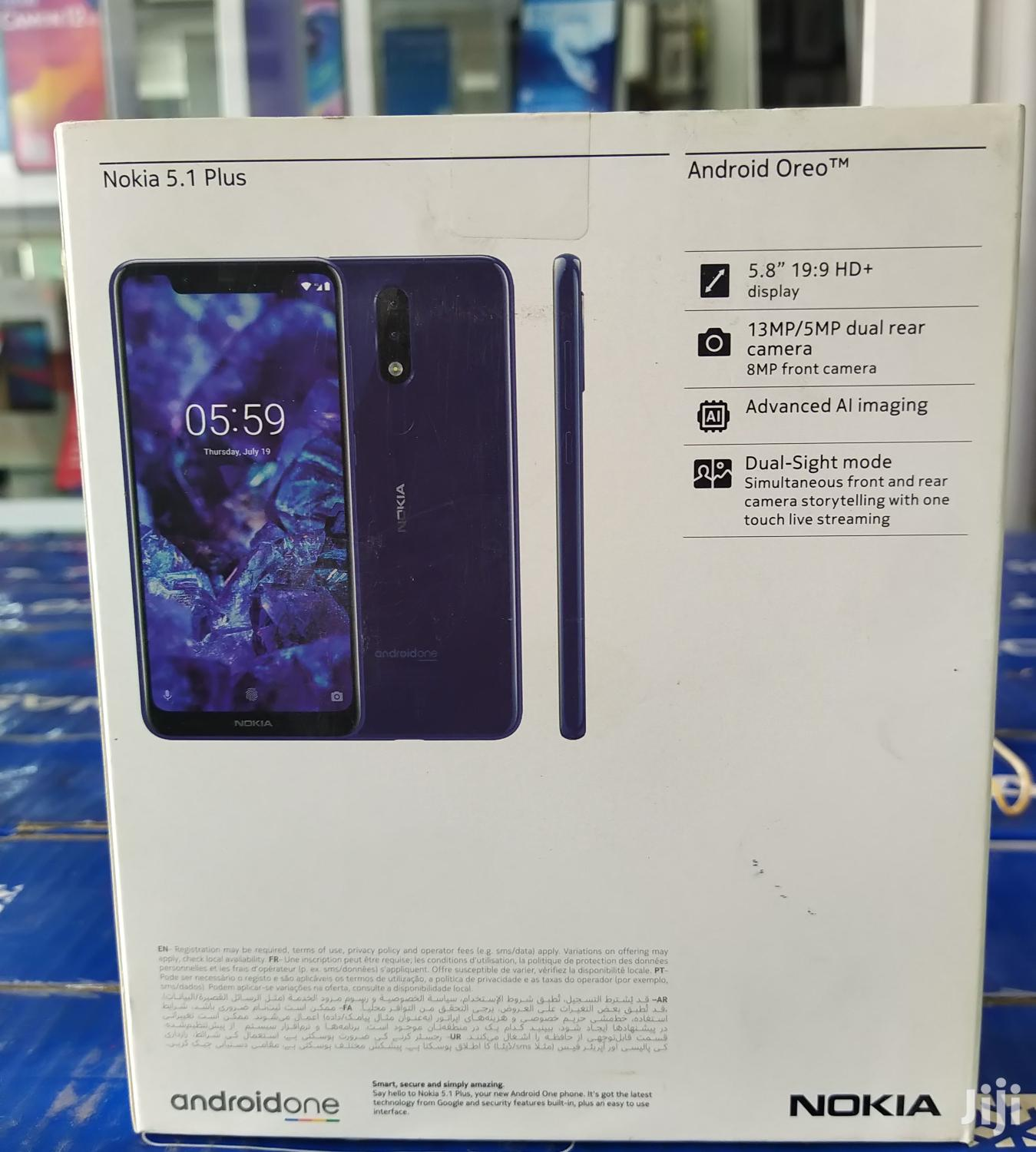 New Nokia 5.1 Plus (X5) 32 GB Black   Mobile Phones for sale in Avenor Area, Greater Accra, Ghana