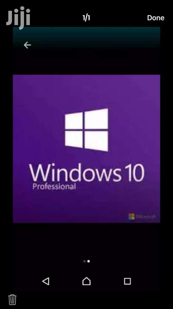 Original Windows 10 Pro October 2018 Version
