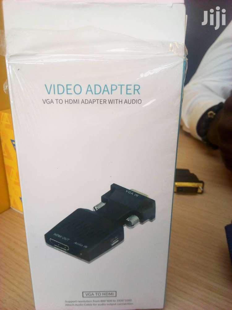 VGA To HDMI Converter Adapter | Accessories & Supplies for Electronics for sale in Accra new Town, Greater Accra, Ghana