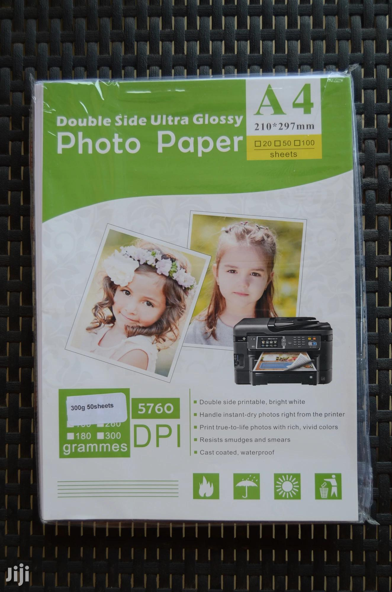 Double-sided Glossy Paper - Epson Printer