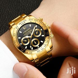 Classic Watch Gold Luxury Fashionable Waterproof