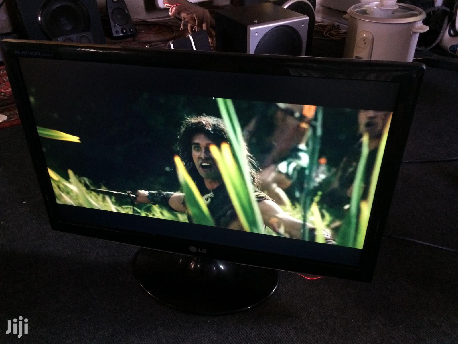 LG Flatron W 2361 V Monitor   Computer Monitors for sale in Tema Metropolitan, Greater Accra, Ghana