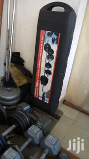 Cast Iron Barbel and Dumbell Set for Sale   Sports Equipment for sale in Greater Accra, Adenta Municipal