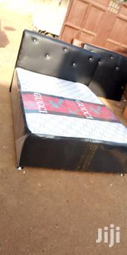 Quality Double Bed Whit Mattress   Furniture for sale in Greater Accra, Adenta Municipal