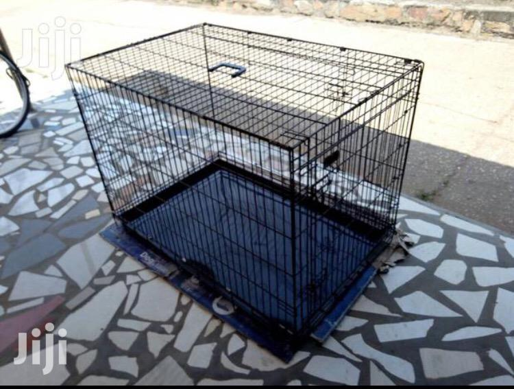 Metal Cage For Dogs Available | Pet's Accessories for sale in Tema Metropolitan, Greater Accra, Ghana