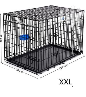 Metal Cage For Dogs Available