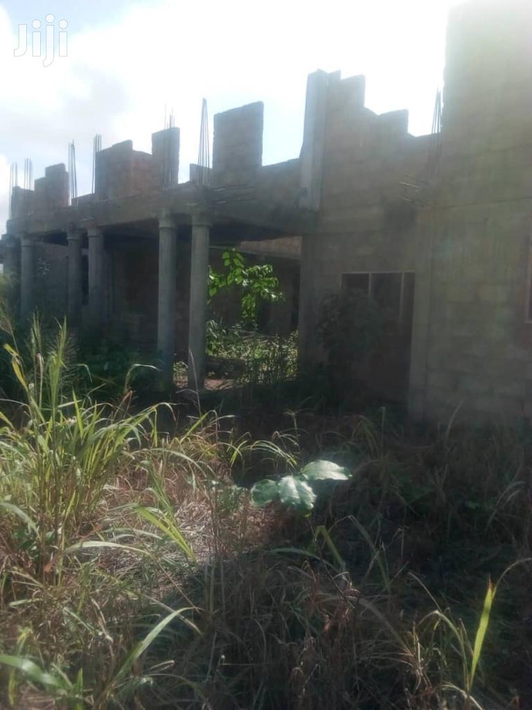 7 Bedrooms Uncompleted Storey Building At A Giveaway Price | Houses & Apartments For Sale for sale in Sunyani Municipal, Brong Ahafo, Ghana