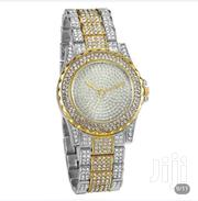 Quartz Watch Cystal Rhinestone Stainless Steel Wrist Watch | Watches for sale in Ashanti, Kumasi Metropolitan