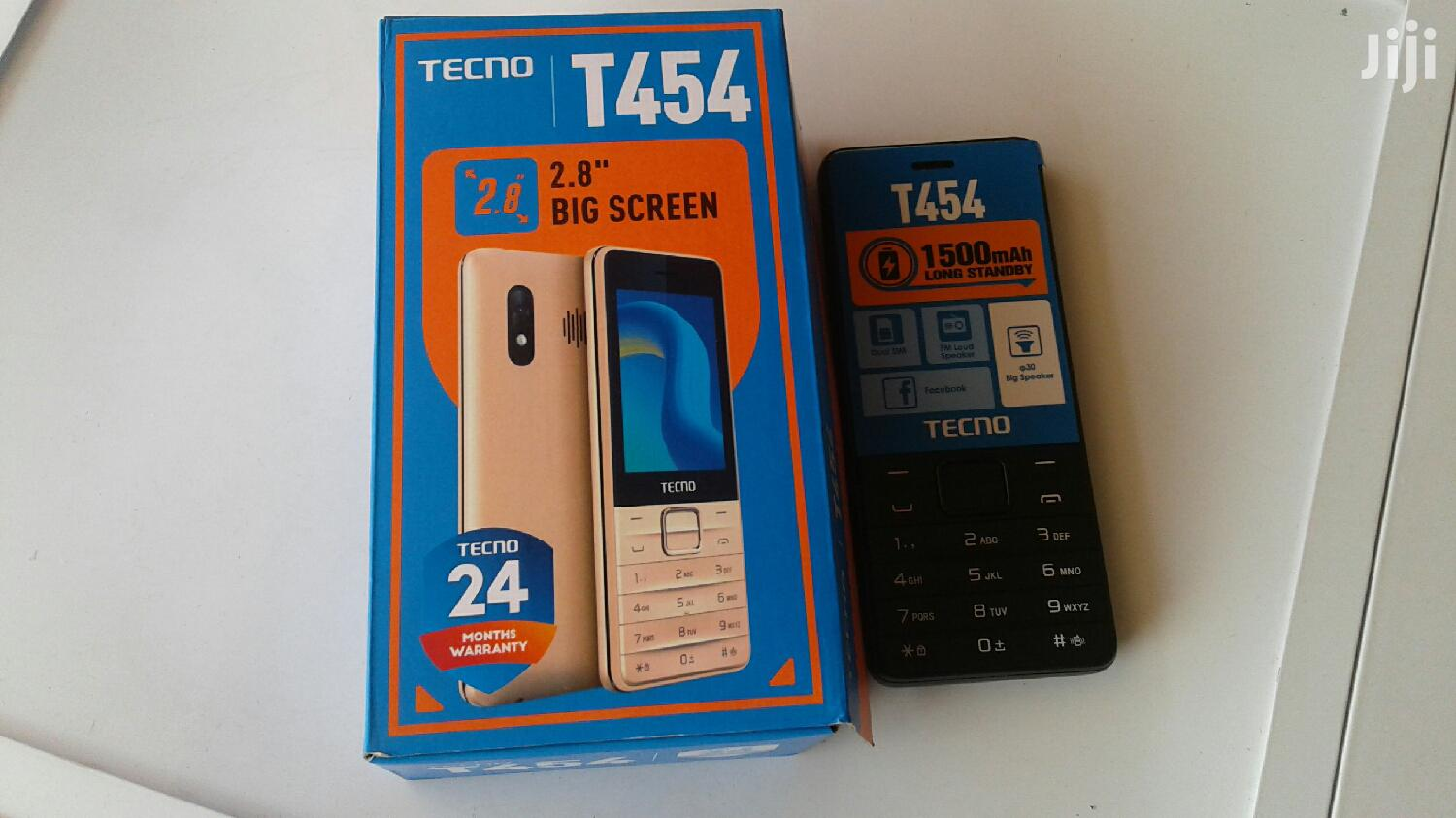 New Tecno T454 Black | Mobile Phones for sale in Ga East Municipal, Greater Accra, Ghana