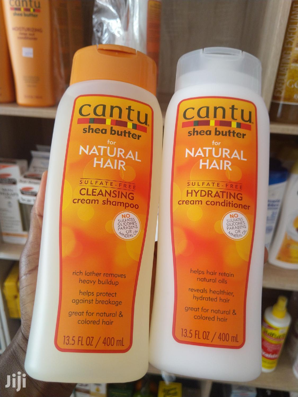 Cantu Hair Shampoo & Conditioner