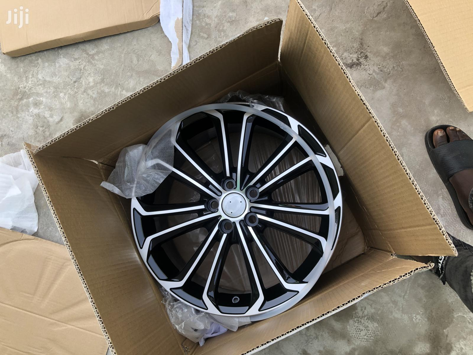 Swapping Of Rims Is Available | Vehicle Parts & Accessories for sale in Darkuman, Greater Accra, Ghana