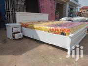 Strong Wooden Bed | Furniture for sale in Ashanti, Kwabre