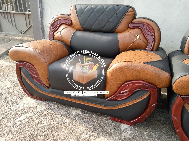 Godly Leather Furniture Sofa | Furniture for sale in Kumasi Metropolitan, Ashanti, Ghana